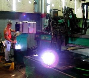 NC Plasma Cutter Manufacturing Capabilities