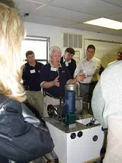 Hands-on equipment training