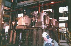 MERRICK custom Precipitator rebuild on unit handling explosive coal dust